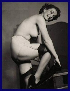 vintage striptease show